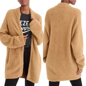 NWT J Crew Point Sur fuzzy sweater cardigan XL
